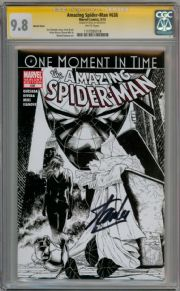 Amazing Spider-man  #638 Sketch Variant CGC 9.8 Signature Series Signed Stan Lee Marvel comic book